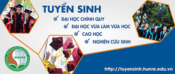 Đại học Tài Nguyên và Môi Trường Hà Nội